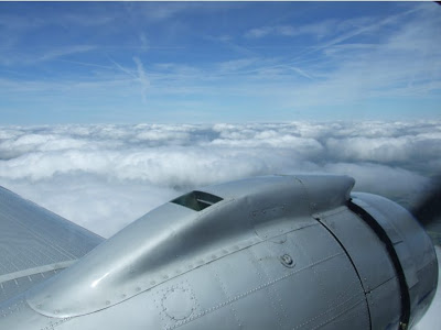 Balade en DC3 DC3-moteur