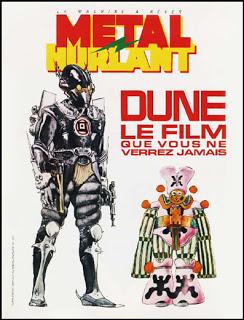 """Revue """"Metal Hurlant"""" n° spécial Dune Jodorowsky  Metal-hurlant"""