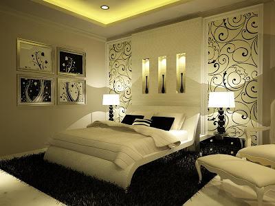 Interior de la casa *-* Master_bedroom_dormitorio_matrimonial_principal_blanco_hueso_crema