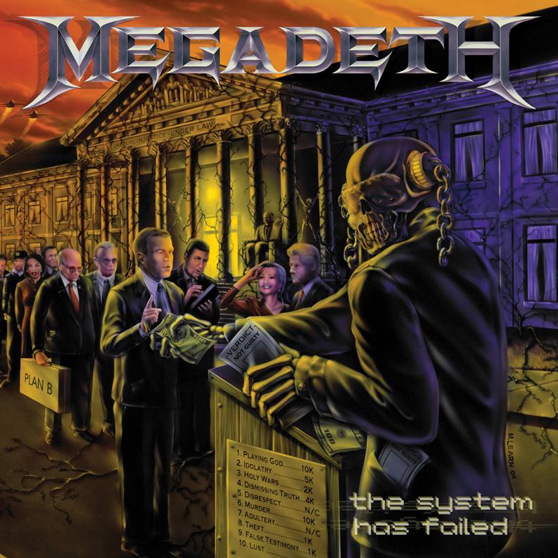 Qu'est ce que vous écoutez en ce moment ? - Page 2 Megadeth_-_the_system_has_failed