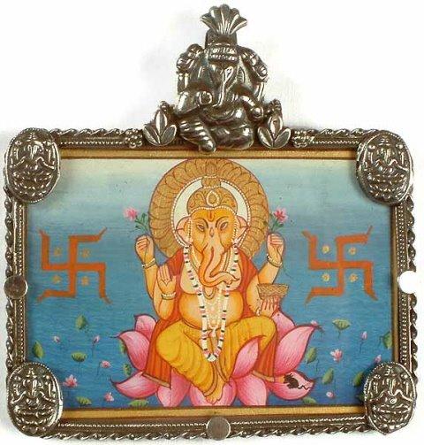 Las religiones merecen respeto Asia_ganesha_pendant_2