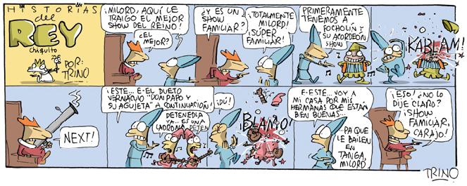 Historias del REY chiquito TRINO1