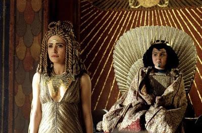 L'Egypte antique dans la littérature, le cinéma et la bande-dessinée.  Cleopatra_ptolem_Rome