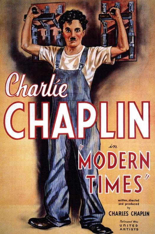 Filmografía de Charles Chaplin 11tiemposmodernos