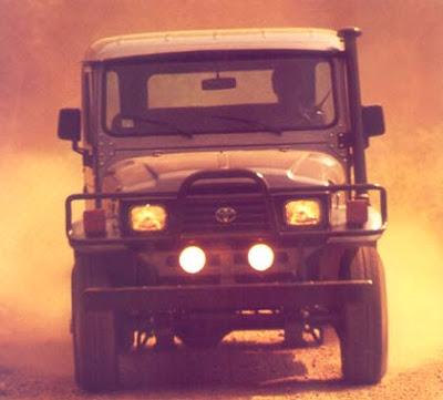 """Uma lenda """" Land Cruiser (Toyota Bandeirantes) - o Indestrutível """" Bandeirante-92-1"""