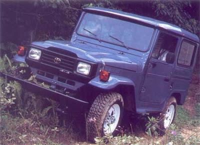 """Uma lenda """" Land Cruiser (Toyota Bandeirantes) - o Indestrutível """" Bandeirante-92-bj50lv"""