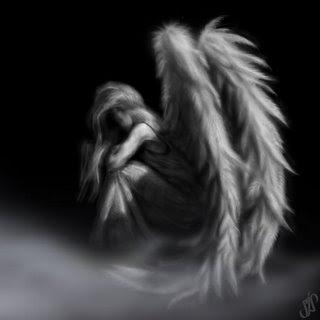 Los ángeles según las creencias Angel%2Bgris