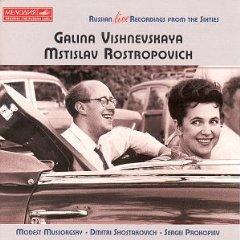 Moussorgsky : Chants et Danses de la Mort Vishnevskaya_rostropovich
