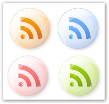 Những bộ RSS Feed Icon tuyệt đẹp RF06