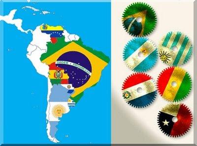 Vizinhos desconfiam de expansão brasileira Mercosul1