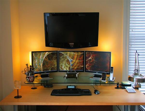 Imagens [Espantosas] Os mais incríveis escritórios em casa  Escritorio11