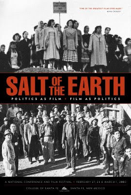 """La sal de la Tierra (Salt of the Earth)"" - película-documental sobre una huelga de mineros en Nuevo México - dirigida por Herbert J. Biberman - año 1954 Salt_of_the_Earth%281954%29"