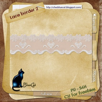 CU for Freebies Lace Border BlueCat_LaceBorder2