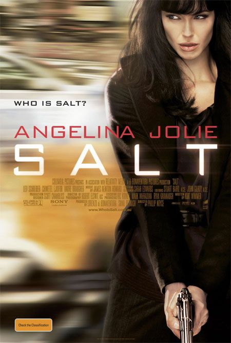 le dernier film que vous avez regardé Salt