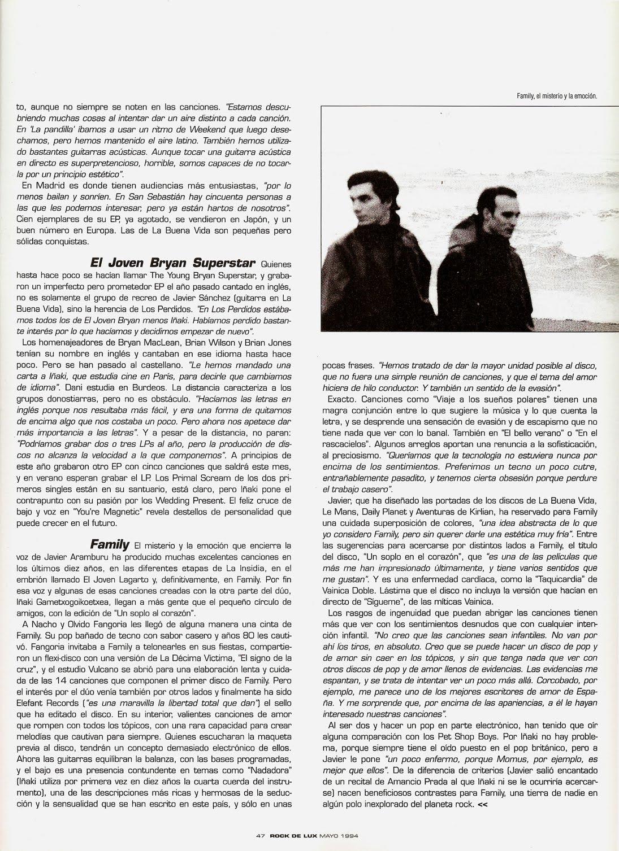 Donosti Sound - Family, La Buena Vida, Le Mans, Aventuras de Kirlian Informe-donosti-sound-rockdelux-108-mayo-1994-4
