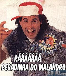 BUZINA - Yé Yé ... Haaaa.. Glu Glu... Pegadinha do Mallandro Serginho-malandro