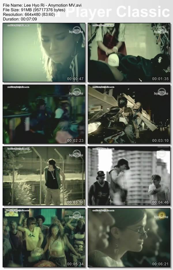 [050000] Hyori ft. Eric - Anymotion [91M/avi] LeeHyoRi-AnymotionMV