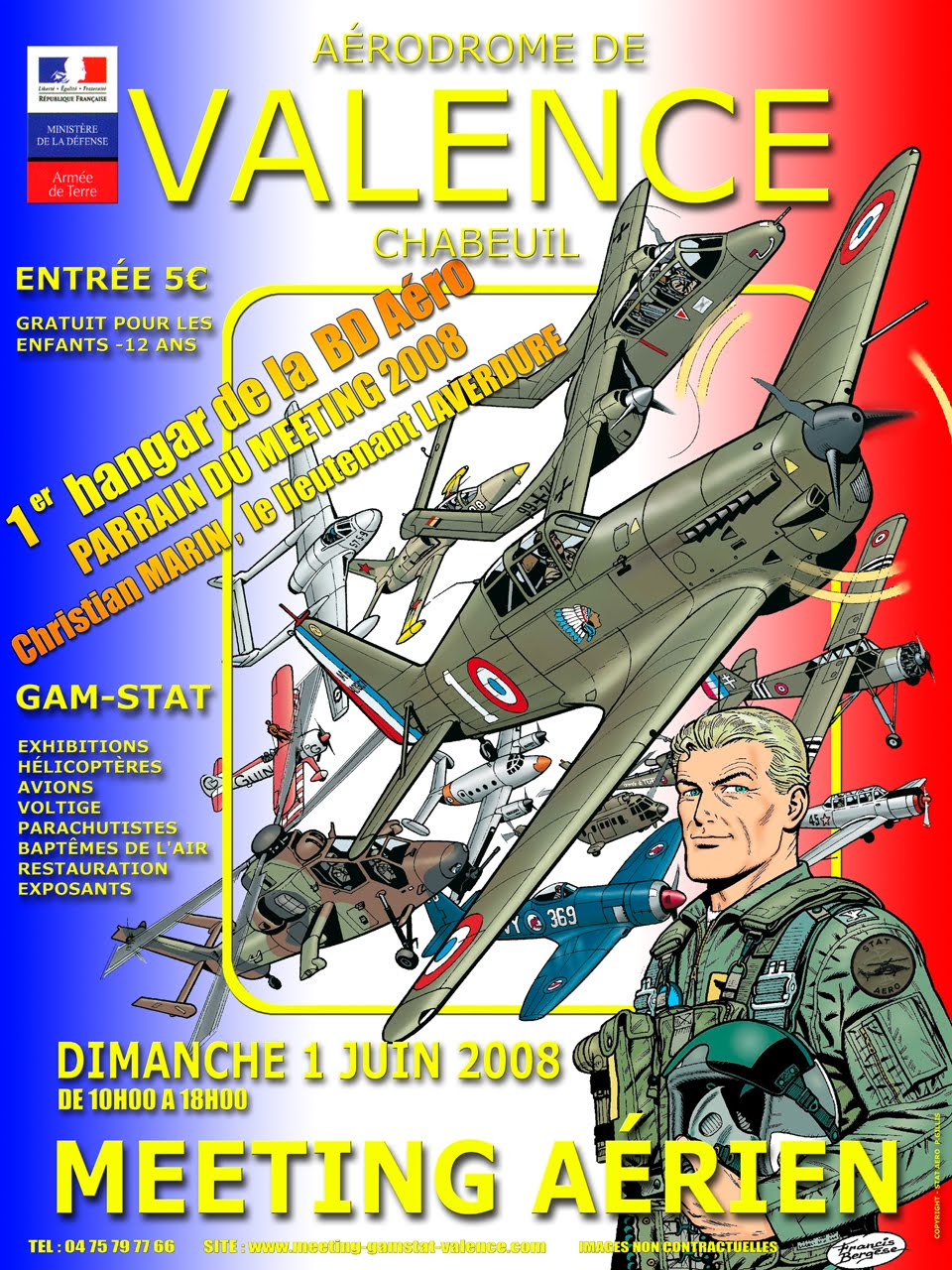 Affiches Aériennes  Affiche2008