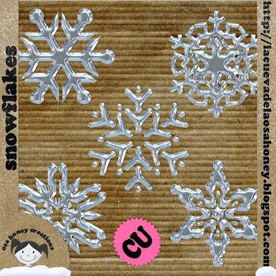 """ Snowflakes "" by Osa Honey PREV-"