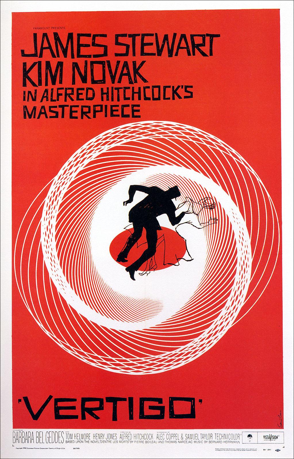 Les plus belles affiches de cinéma - Page 2 Vertigo_poster