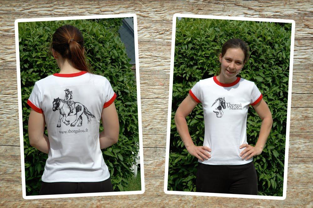 Peinture de Thorgalou à l'acrylique T-Shirt