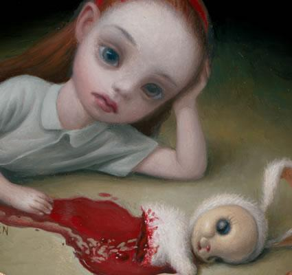 CREATIONS , CREATURES et DIORAMAS  - Page 11 Mark_Ryden-Alicia