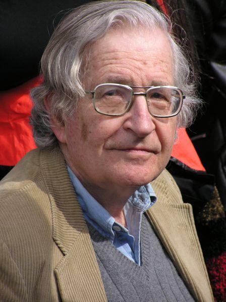 Noam Chomsky: Artículos, información y obras. Noam_Chomsky_