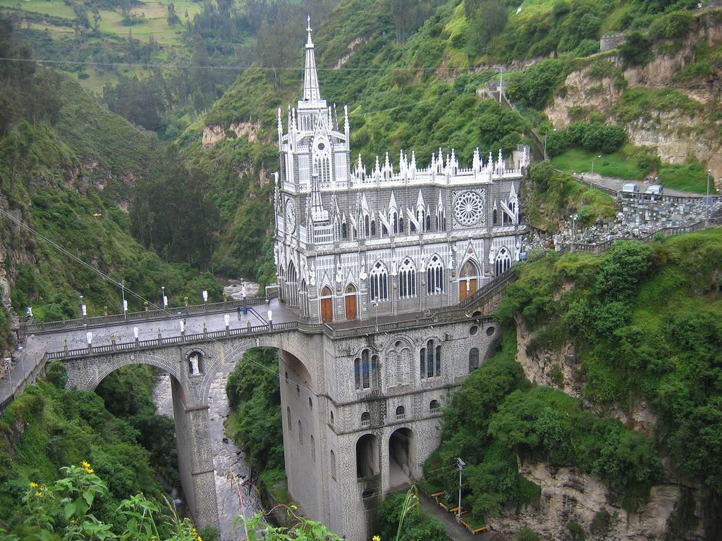 Najlepše katedrale sveta Las_lajas_cathedral