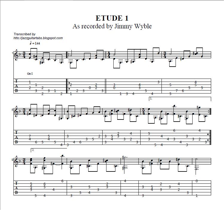 7 et 8 CORDES, guitares-et-basses, impro/composition, investigations Etude1-JWyble