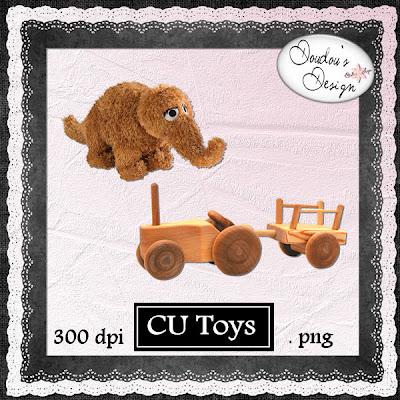 CU Toys en FREEBIE By Doudou PreviewDoudou
