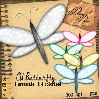 CU Butterfly en FREEBIE BY Doudou Pvdoudou