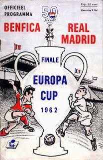 Partidos enteros historicos de selecciones o equipos - Página 5 Benficarealmadrid1962