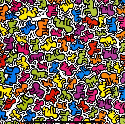 Keith Haring Untitled-1988
