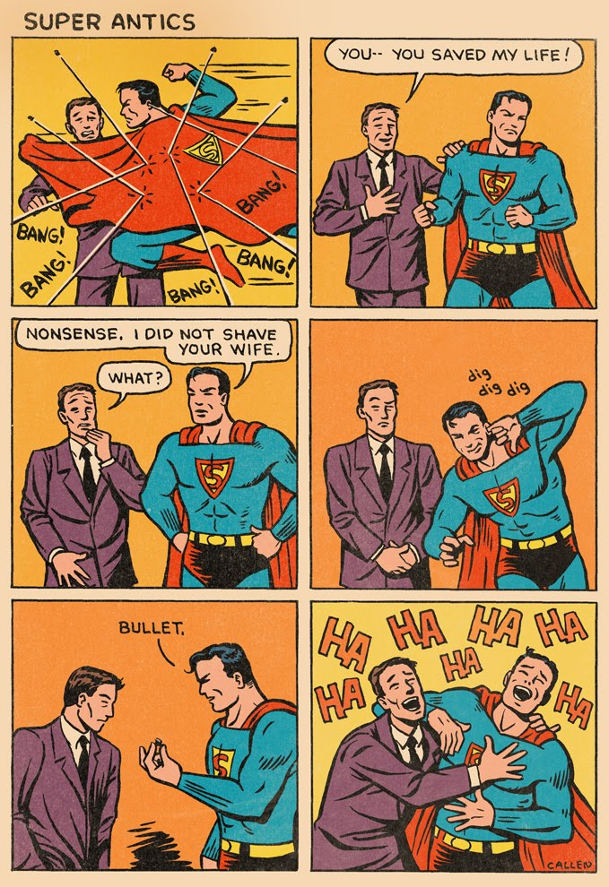 Funny Superman Pics Superman_ear_bullet