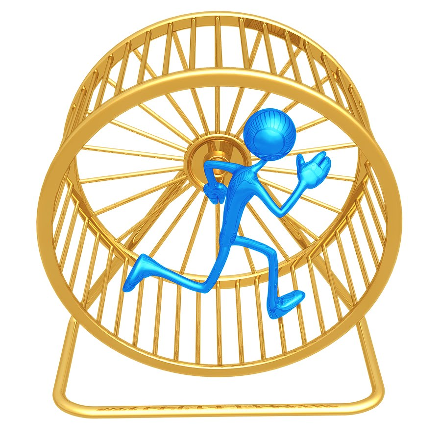 A penny for your input Bigstock_Hamster_Wheel_Runner_2984542