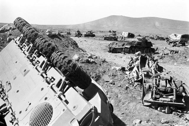 صور معركة وادي الدموع على الجبهة السورية عام 73  93