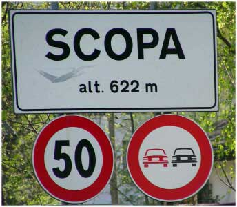 Paesi e città con nomi assurdi Scopa