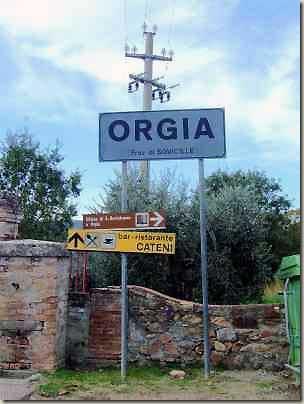 Paesi e città con nomi assurdi Orgia