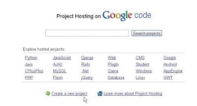 Dùng Google Code,Google Site làm host chứa file js Gc1