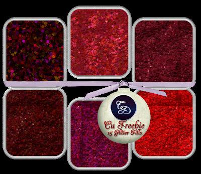 CU FREEBIE RED GLITTER FILLS by Channi 10