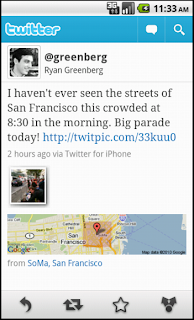 Twitter for Android: Update available Android-1052