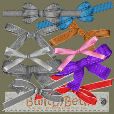 Bows to recolor - By: BuiltByBeth Blogpreview