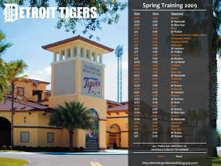 Monthly Tiger Schedule Wallpaper SpringTraining2009-400x300