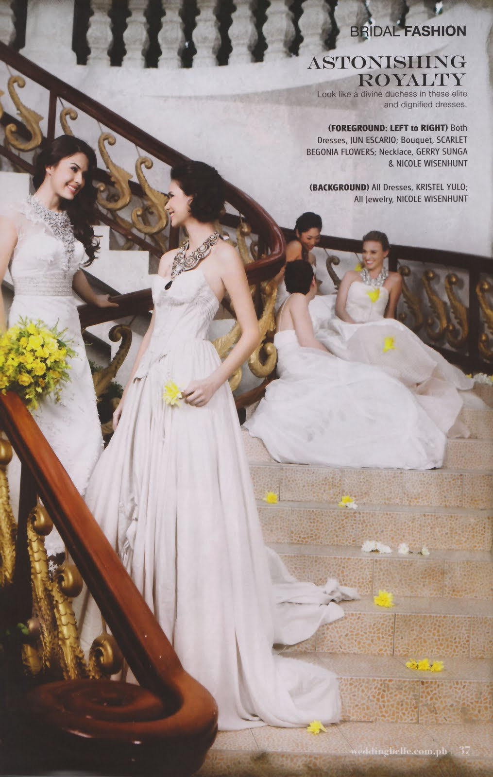 ⊰✿• .¸¸.⊰ Galeria de Priscilla Meirelles, Miss Earth 2004.⊰✿• .¸¸.⊰  - Página 3 Wedding%2BBelle%2B(Oct%2B2009)%2B6