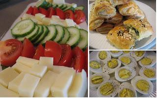 Türk Muftagı Aperativler Kahvalti