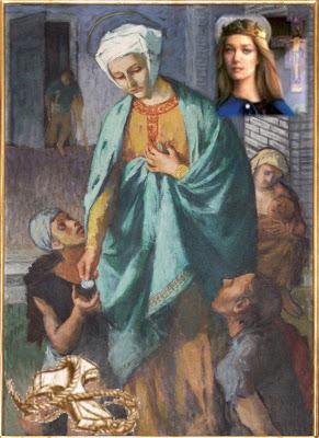 Imagens de santos - Página 2 Santa%2BIsabel