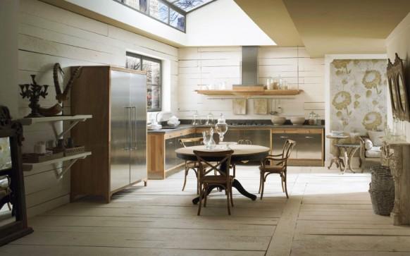 مطابخ كلاسيكيه - صفحة 2 Stylish-country-kitchen-582x363