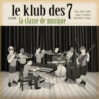 [Reactions] Klub des 7 -La classe de musique- Cover-klubdes7
