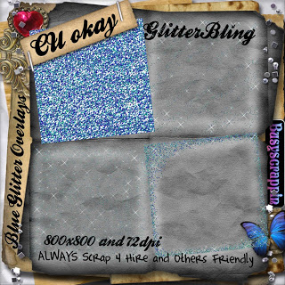 Glitter Bling Overlays - BY: BusyScrappin Folder