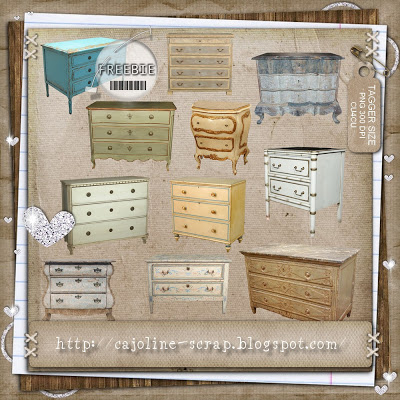 12 Commodes TAGGER SIZE - PNG 300 DPI - CU4CU by cajoline-scrap  Cajoline_petitescommodes_preview